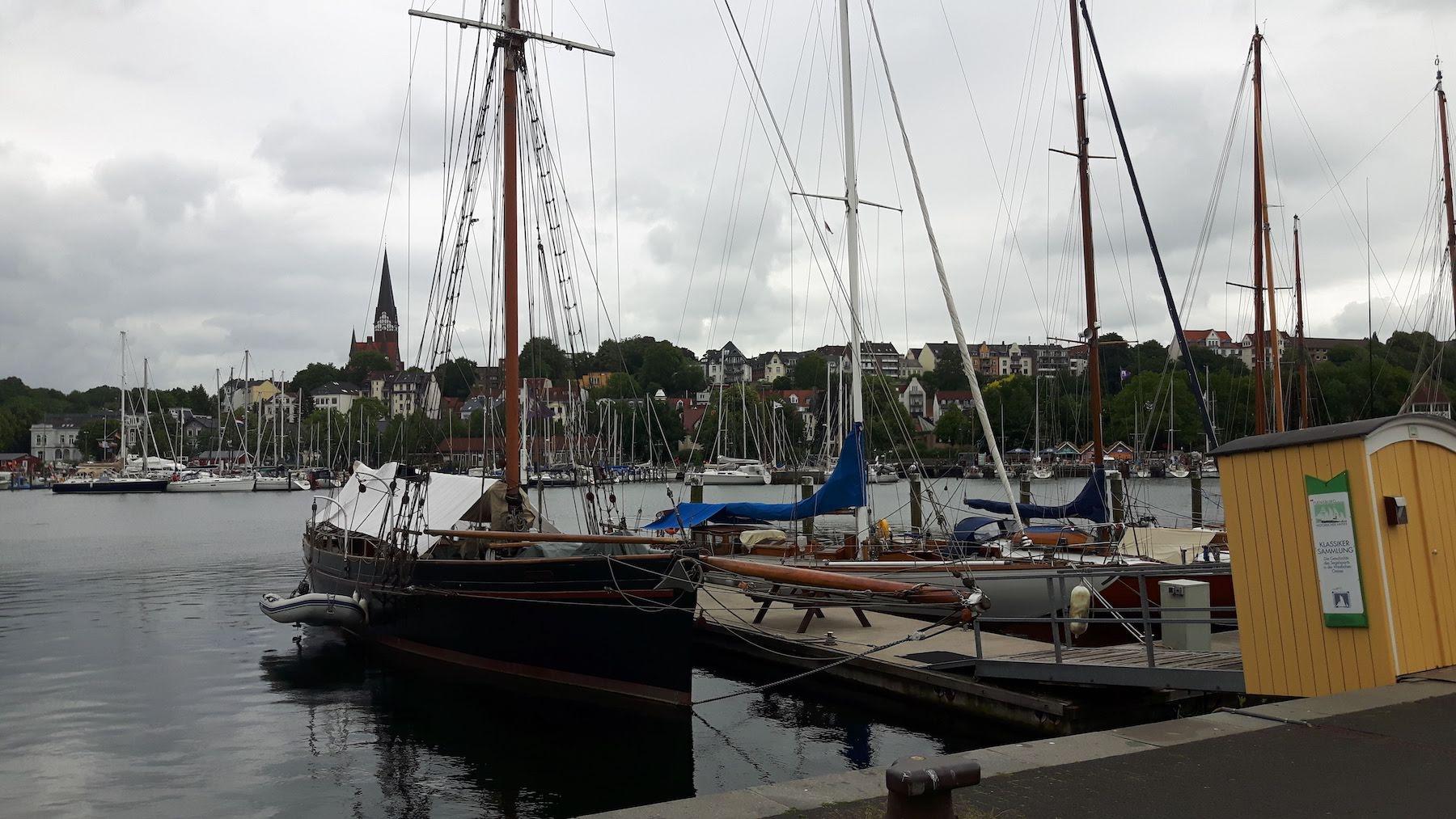 Flensburg Schlifbrucke Harbour