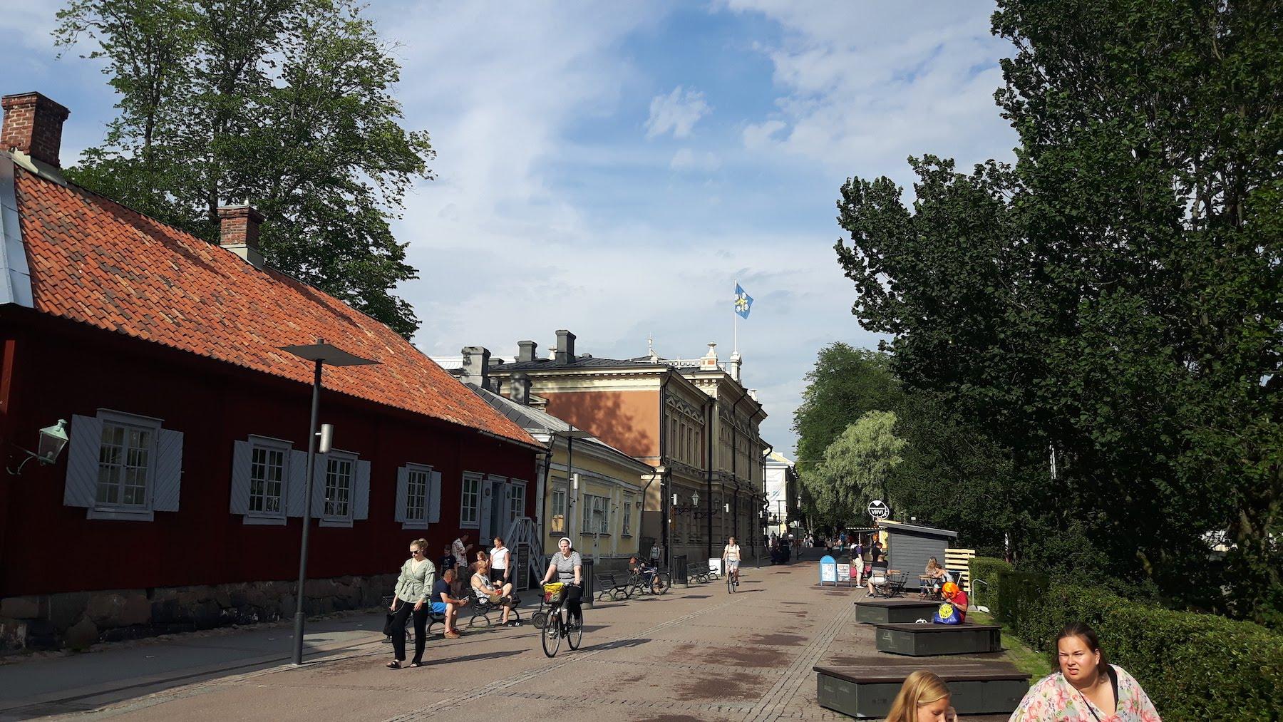 City Street Turku Finland