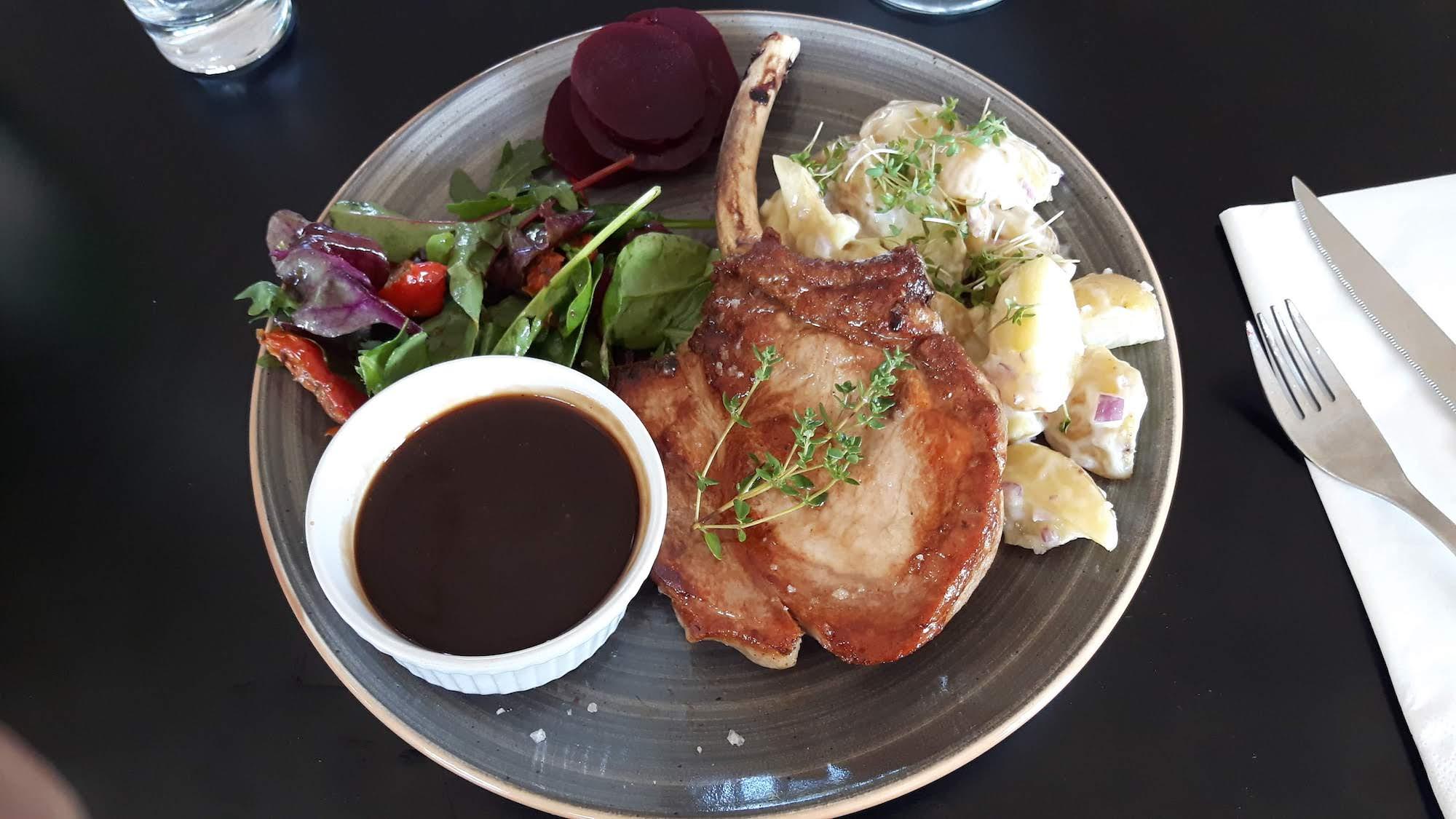 Pork Chops in Rodbyhavn Denmark