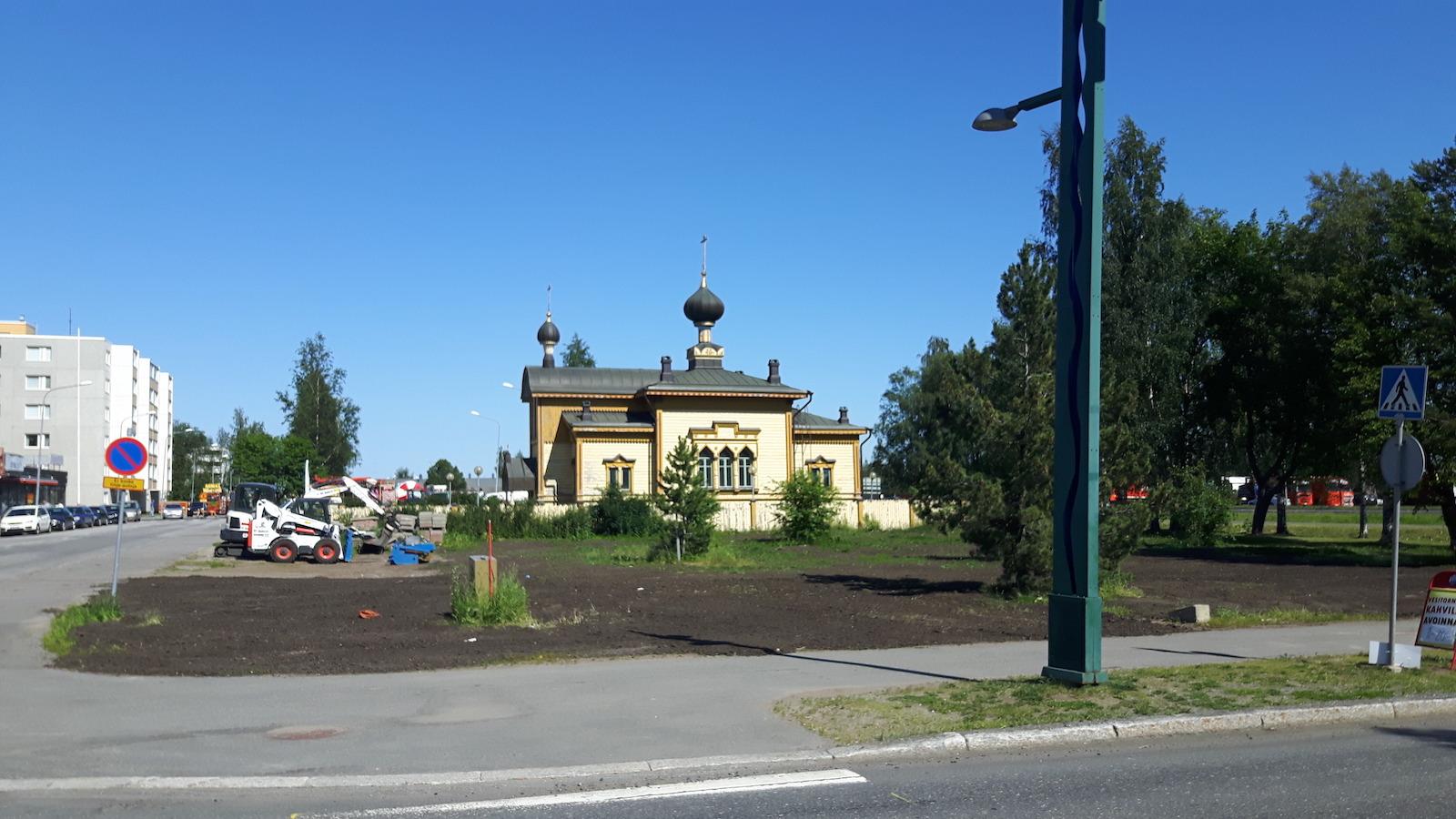 Russian Church in Tornio Finland