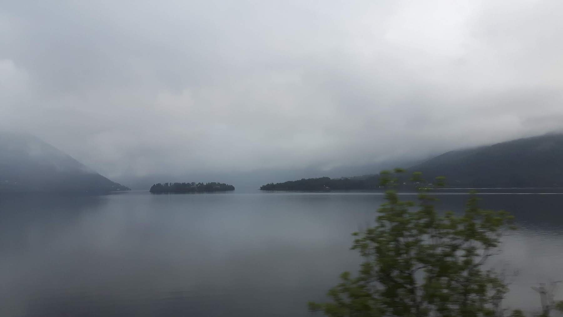 Mysterious fjord near Bergen