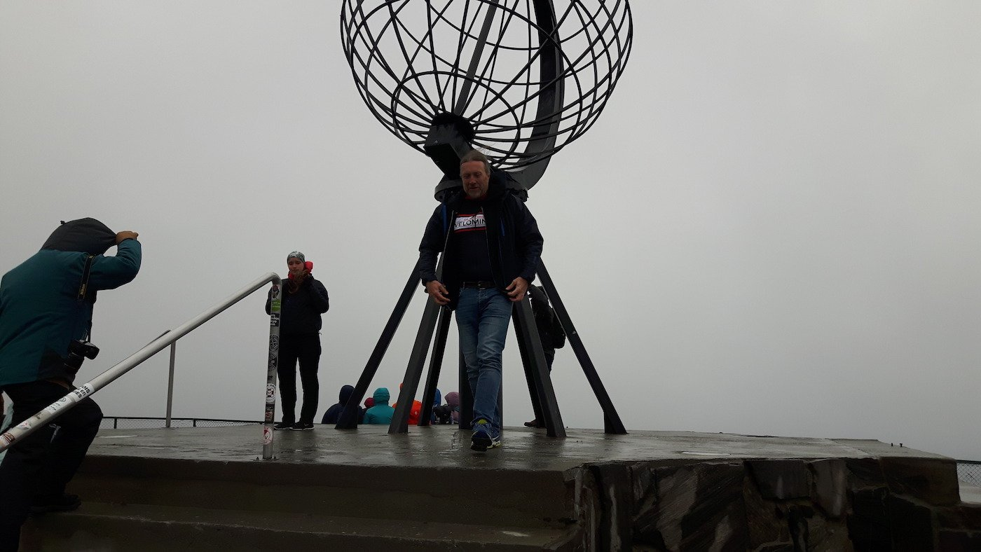 Me at the North Cape Point