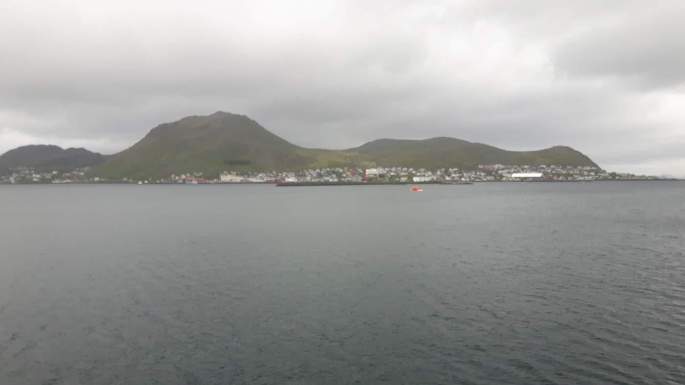 Approaching Honningsvåg Norway