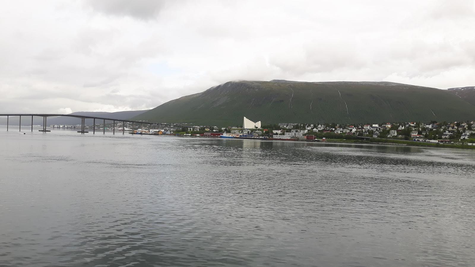 Approaching Tromso Norway