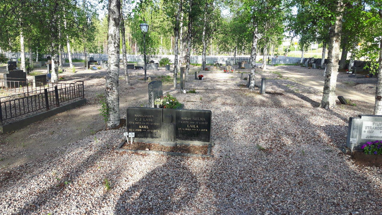 Cemetery Junosuando Sweden