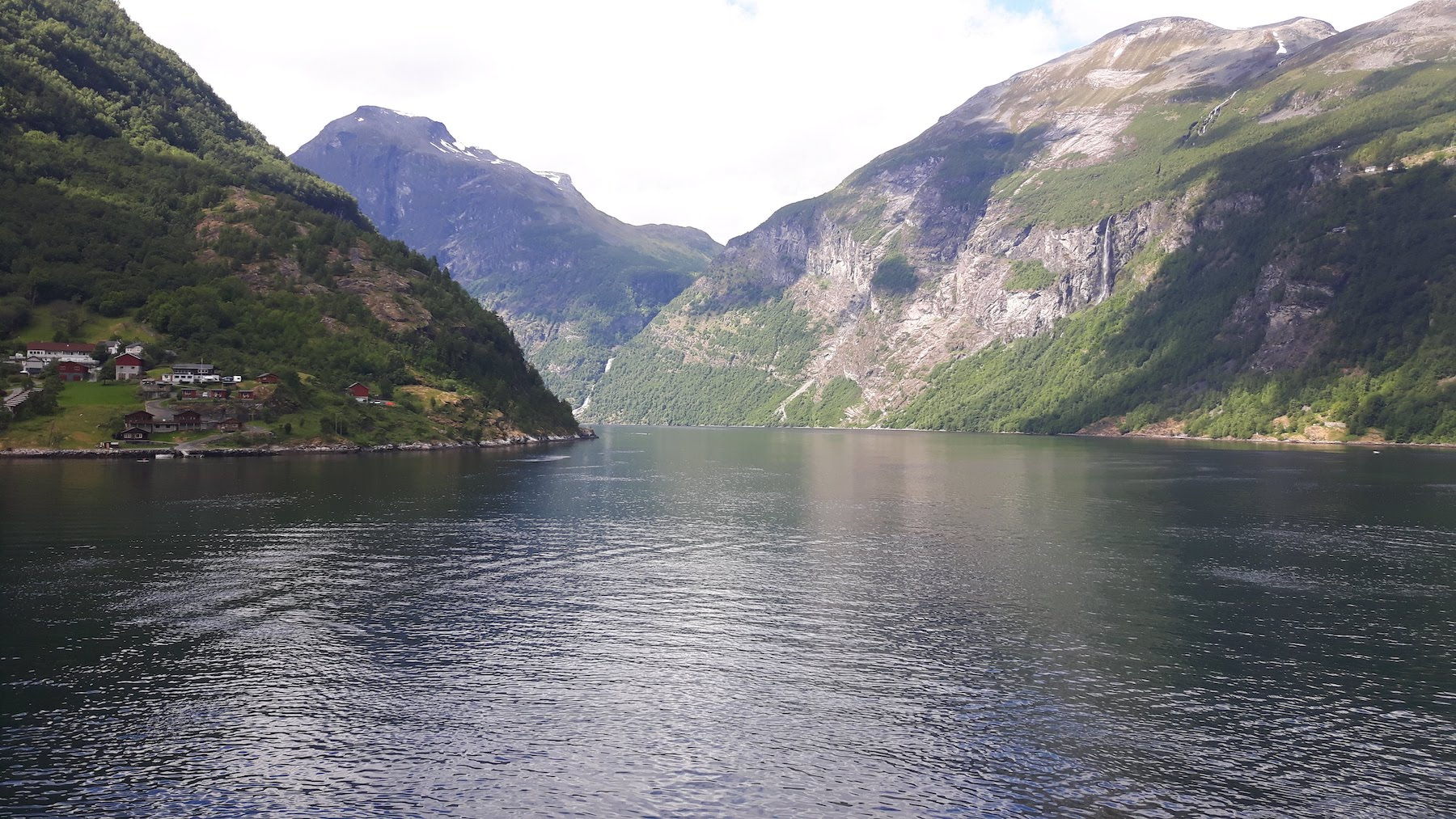 NIce view Geirangerfjord Norway