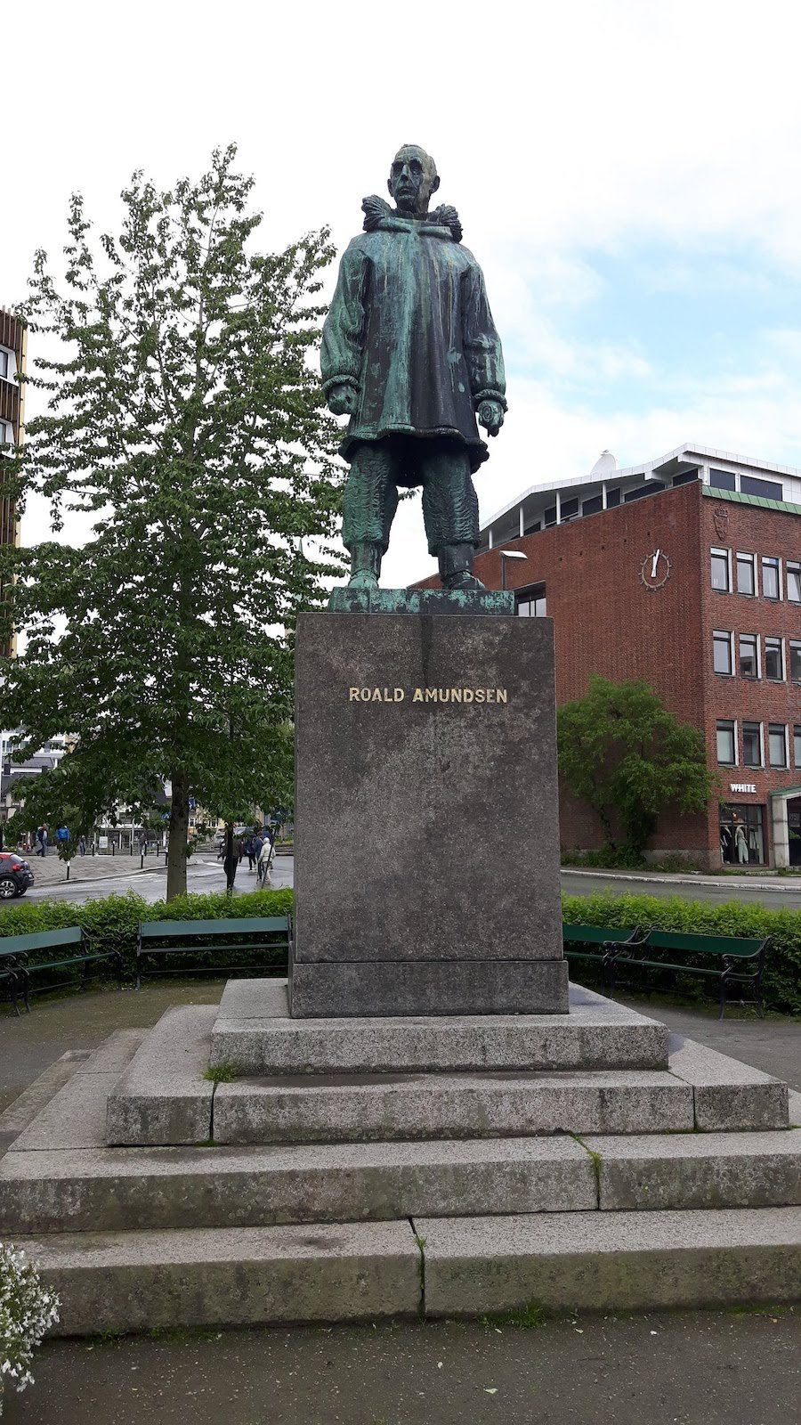 Roald Amundsen Statue Tromso Norway