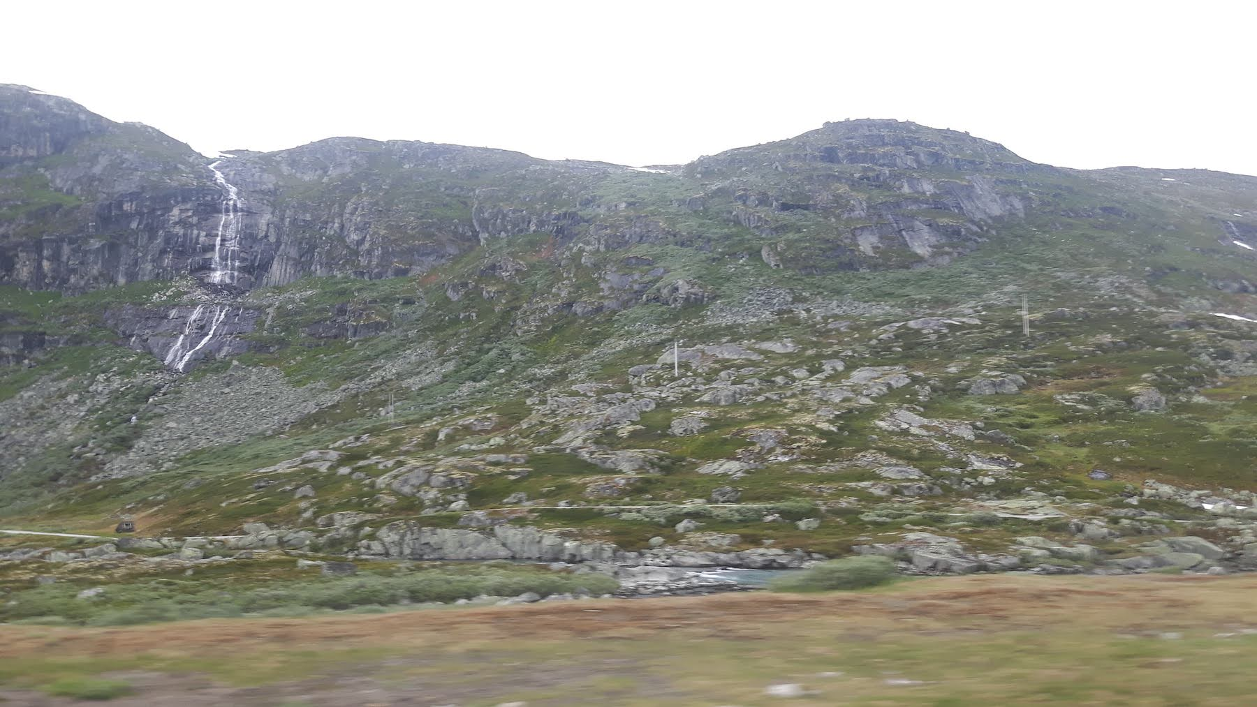 Hardangervidda train ride to Bergen