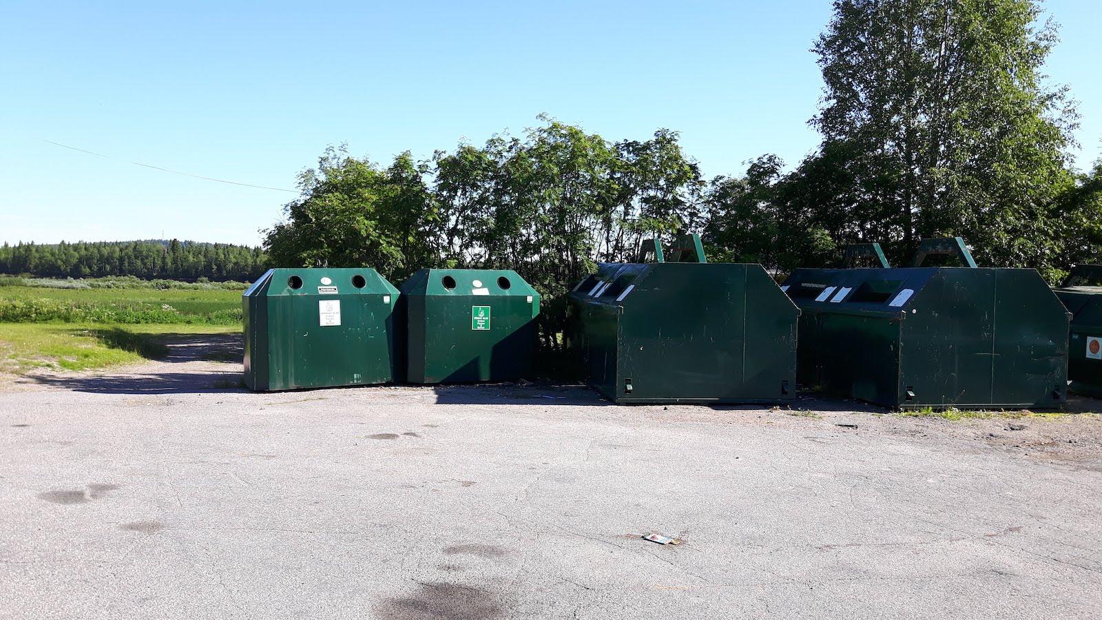Recycling Junosuando Sweden