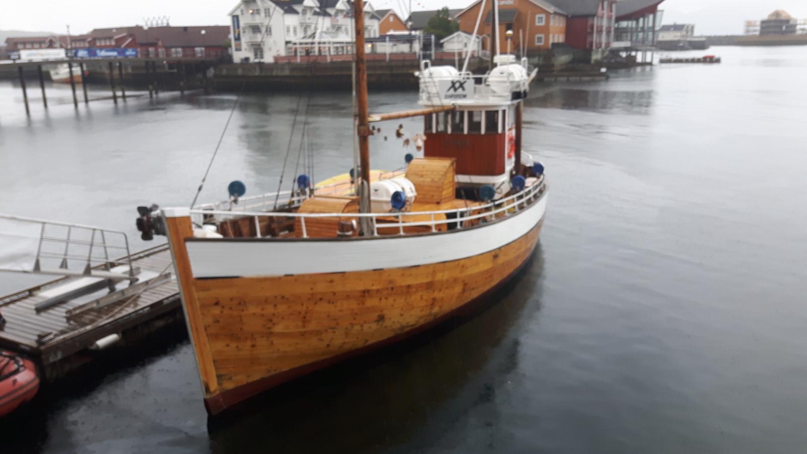 Lofoten fishing boat Norway