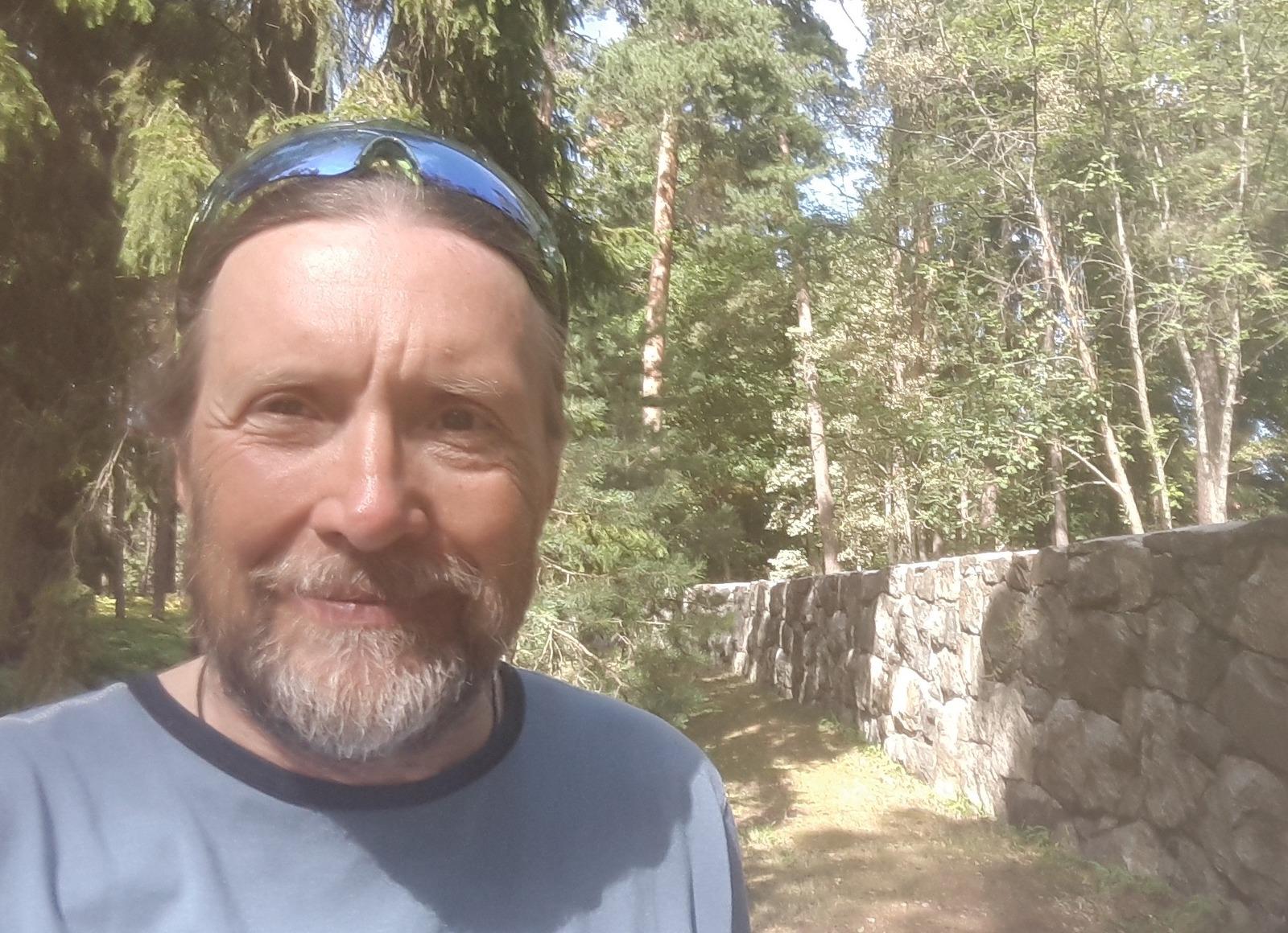 Me at the Skogskyrkogården Stockholm Sweden