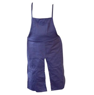 4-Pocket Split-Leg Canvas Bib Trucker's Apron