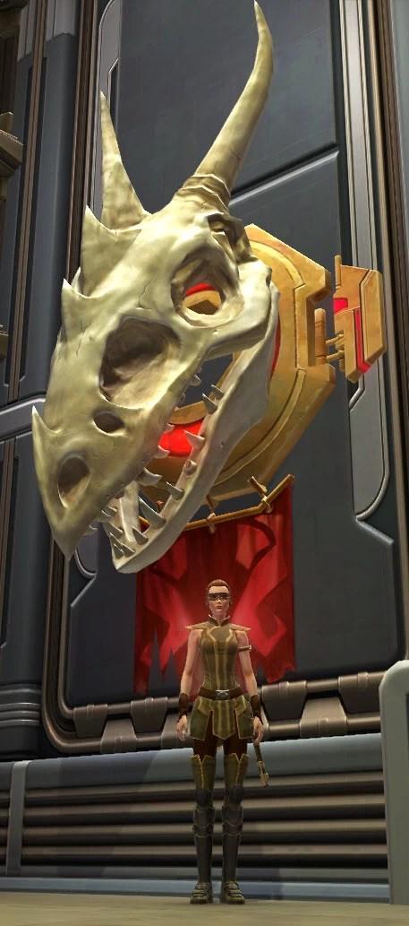 Krayt Dragon Skull 2