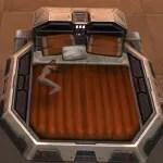 Luxury Bed (Orange)