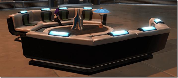 Arrangement Executive's Lounge 2