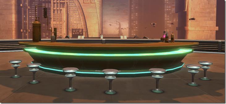 Arrangement Underworld Bar