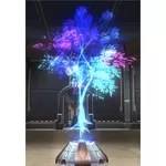 Holographic Tree (Blue)