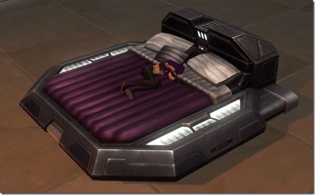 Luxury Bed (Plum)m 2
