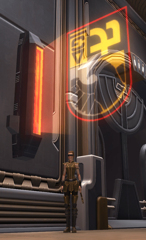 tor decorating holo sign falcon swtor