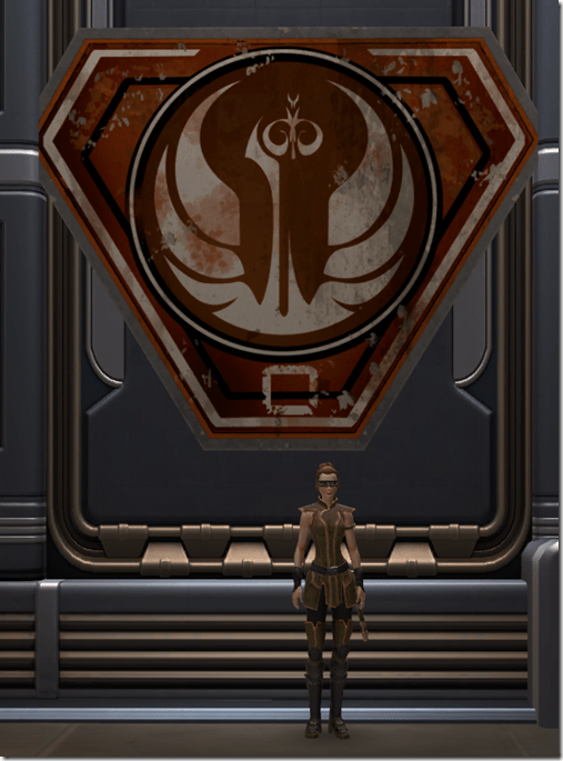 Battle-Worn Republic Placard 2