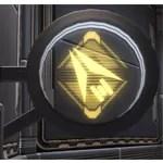 Circular Sign: Trooper