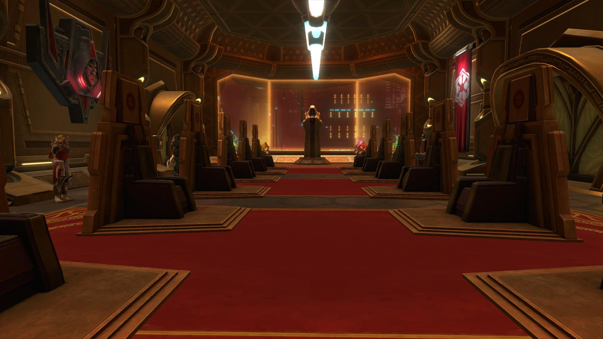 Dark Room: Feravai's Dark Council Throne Room - The