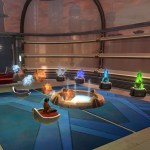 Taiari's Jedi Meditation Room - The Harbinger
