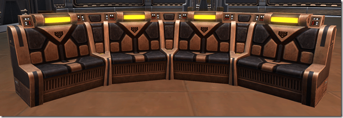 Republic Starship Couch