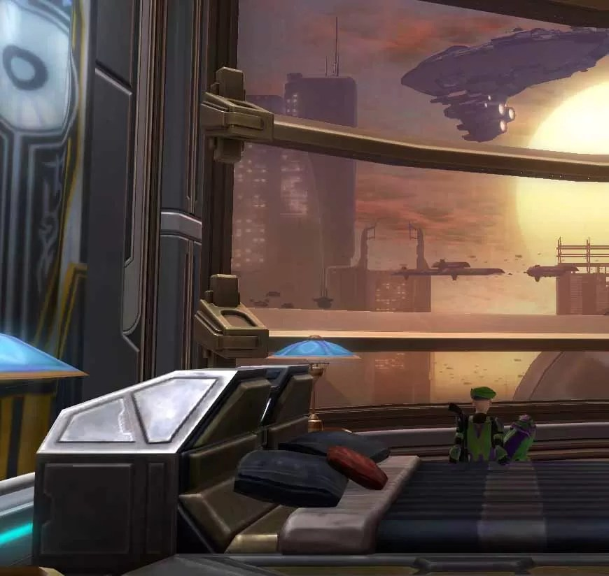 Skyhawk Apartments: Nerhah's Apartment Bedroom - The Ebon