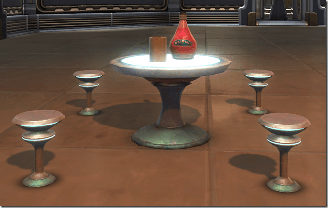 Arrangement Cafe Table 2