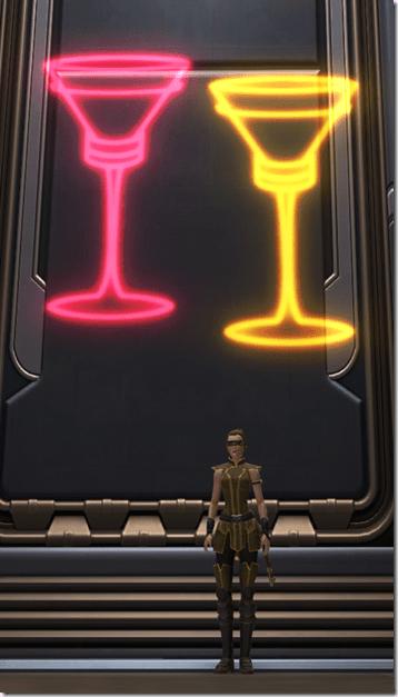 Holo Sign Champagne Glasses 2