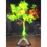 Holographic Tree (Green)