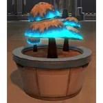 Potted Plant: Luminescent Mushrooms (Blue)