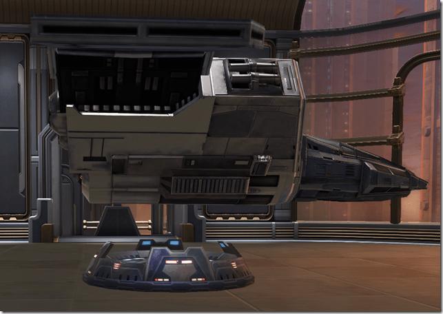 Starship Imperial Gunship 2