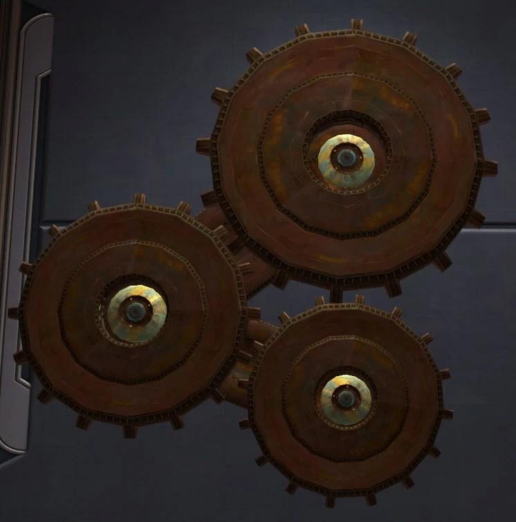 Decorative Gear Arrangement