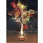 Life Day Holo-Tree (Green-Gold)