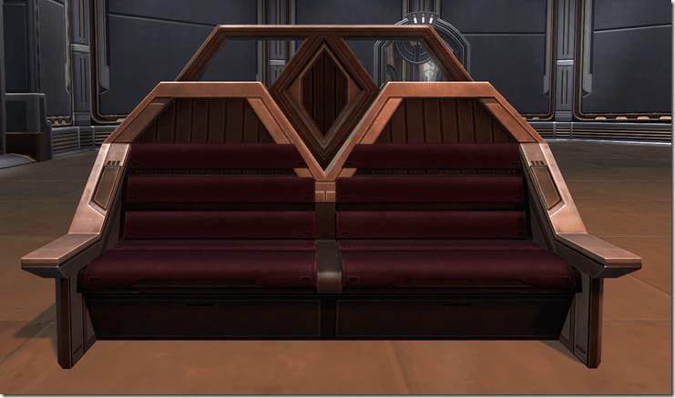 Austere City Bench