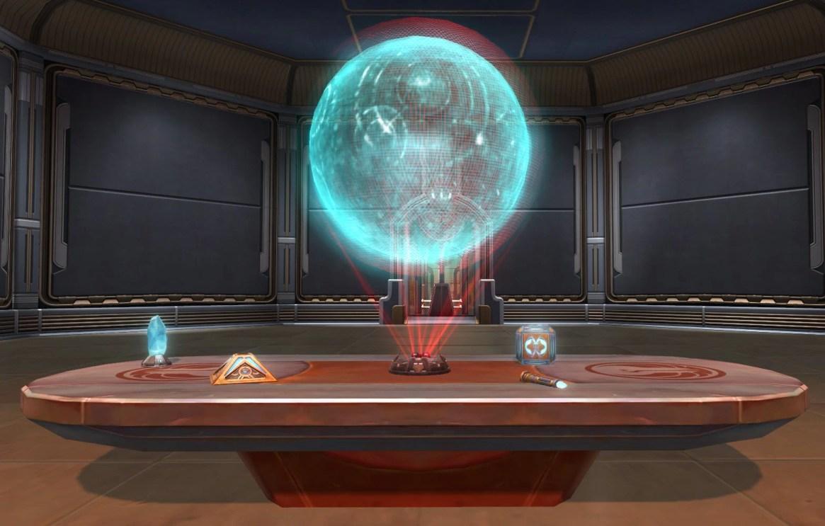 Jedi Small Council Table