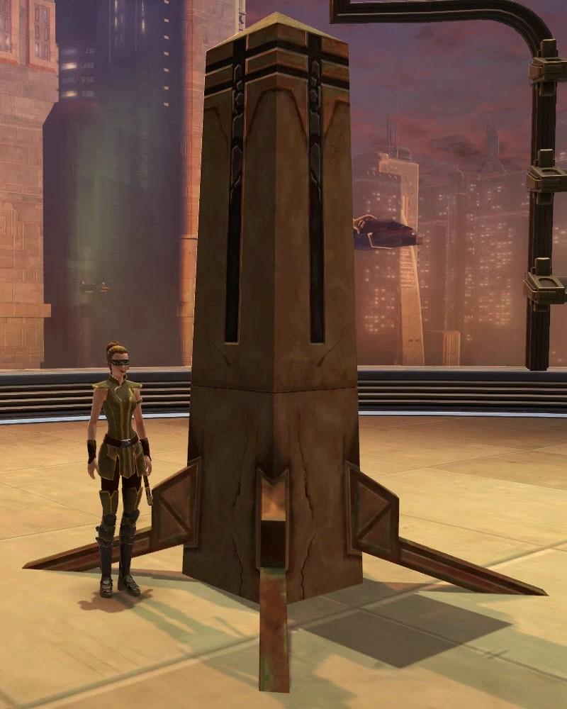 Yavin Standing Obelisk 2