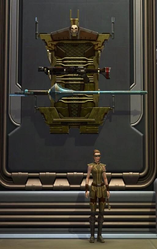 Mandalorian Weapon Rack 2