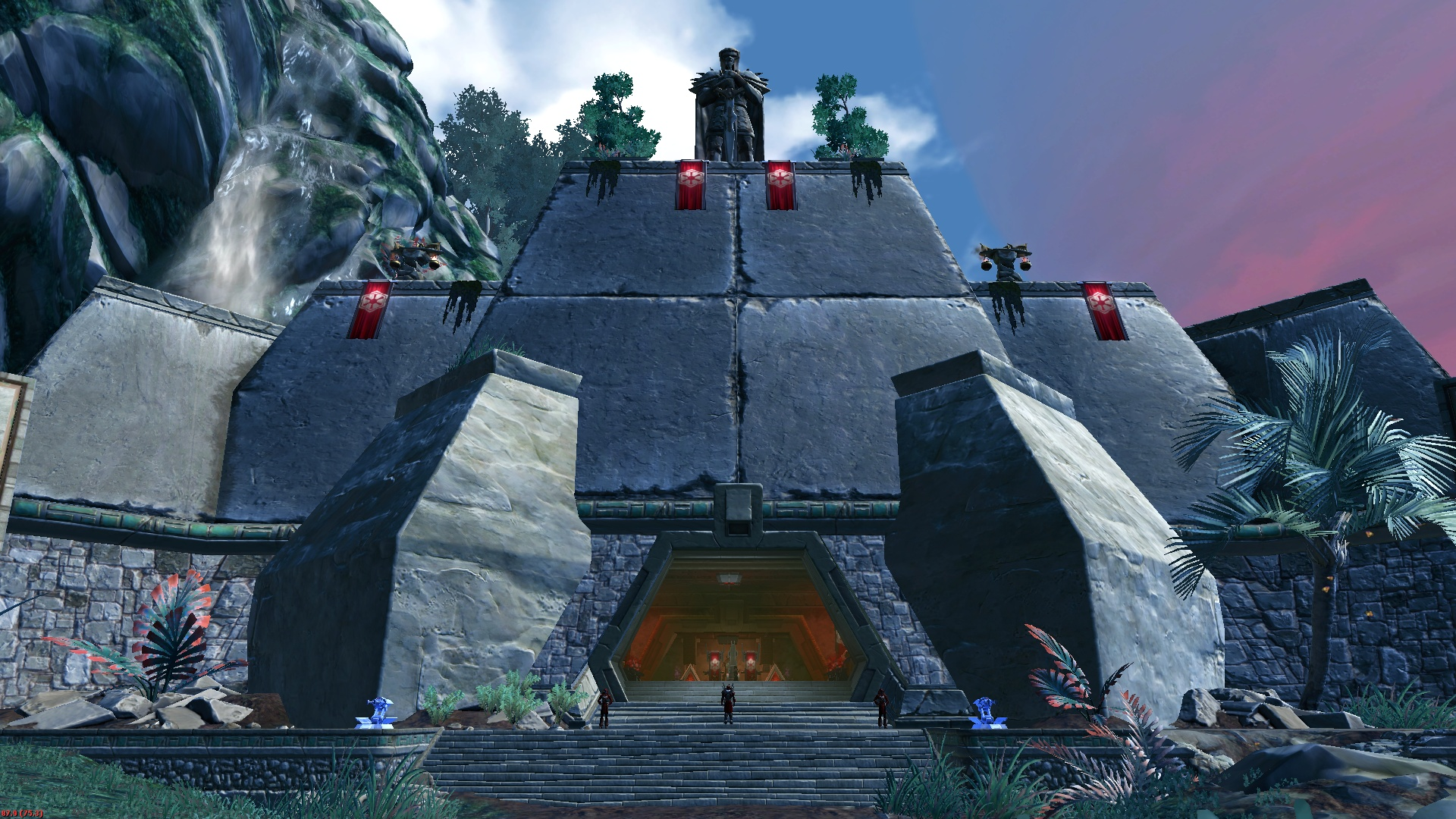 Daegron's Sith Academy Main Hall – The Red Eclipse