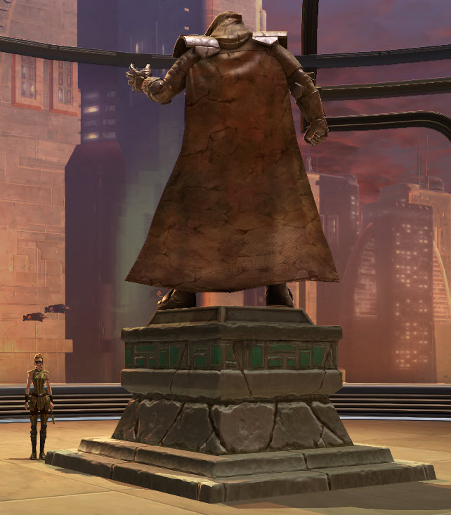 Commemorative Statue of Darth Malgus 2