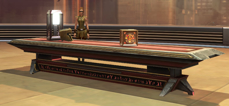 Sith Temple Long Table 2