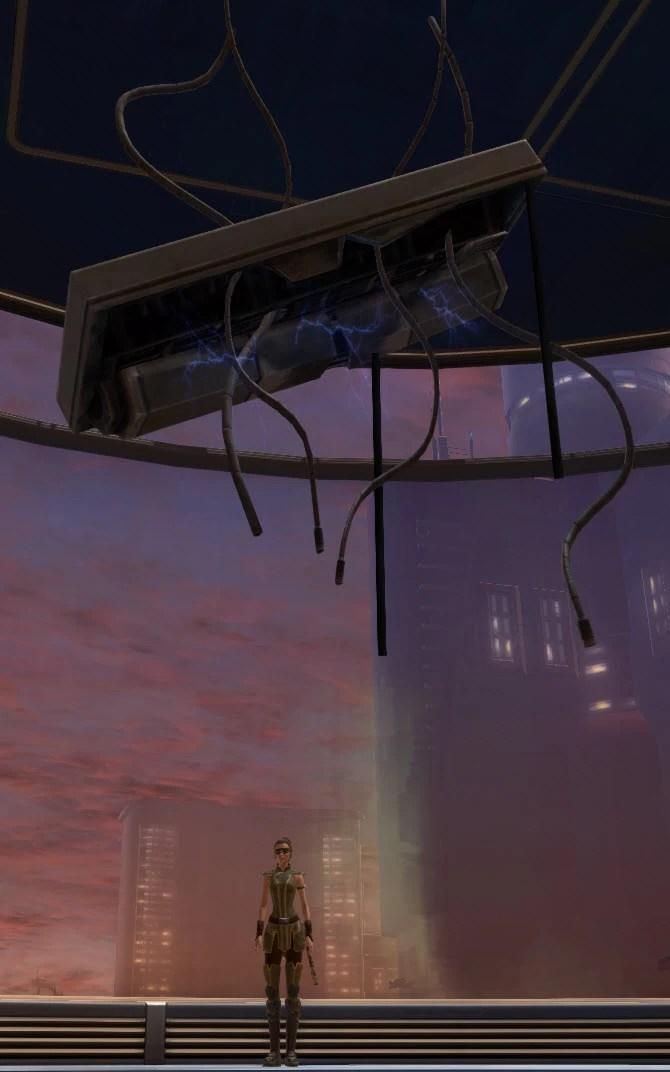 Destroyed Ceiling Light 2
