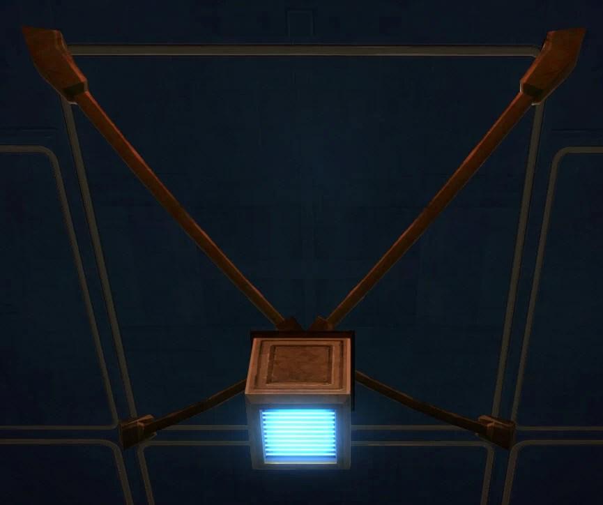 Rakata Hanging Lights (Blue)