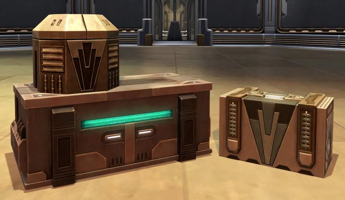 Arrangement Zakuulan Crates
