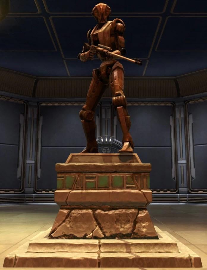Commemorative Statue of HK-51