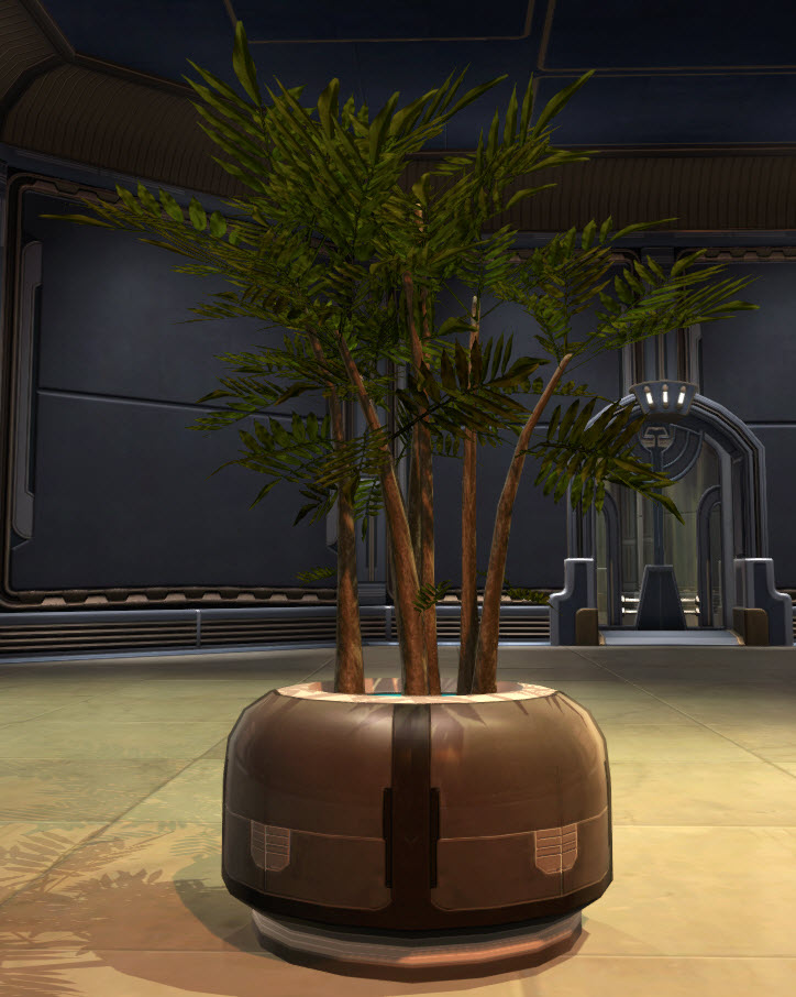 Potted Plant Zakuul Vertical Bush