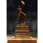 Commemorative Statue of Gault Rennow
