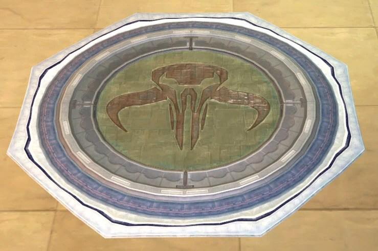 Mandalorian Floor Tile